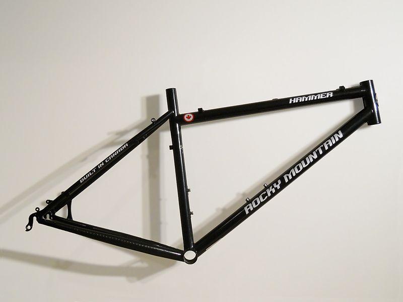 File:Bicycle frame mtb hardtail.jpg