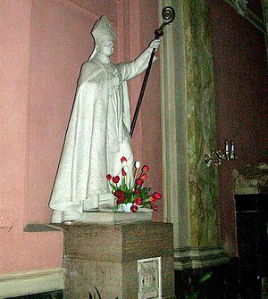 Józef Bilczewski - Statue in the Latin Cathedral in Lviv.