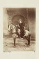"""Bild från familjen von Hallwyls resa genom Algeriet och Tunisien, 1889-1890. """"Infödd officer."""" - Hallwylska museet - 91869.tif"""
