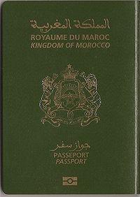 إنجاز جواز السفر البيومتري Le Passeport Biométrique 200px-BioPassMaroc