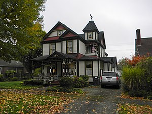 National Register of Historic Places listings in Lewis County, Washington - Image: Birge House Centralia 86003375 NRHP Lewis County, WA