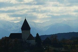 Nocrich - Hosman fortified church
