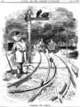 Bismarck als Weichensteller, Punch 1878.png