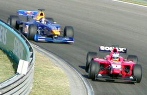 International Formula 3000 - Sweden's Björn Wirdheim won the 2003 FIA Formula 3000 International Championship for Drivers