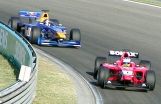 Arden International - Björn Wirdheim in 2003 racing at Hungary