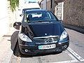 Black Mercedes A170 W169 front.JPG