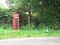 Blackdown, phone box and footpath - geograph.org.uk - 935812.jpg