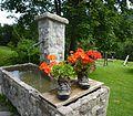 Blaichach - Buhl´s Alpe über dem Ostertal, Brunnen.JPG
