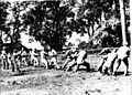 Blind persons at the Training Centre for the Adult Blind at Dehra Dun play Tug-of-War.jpg