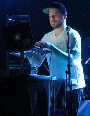 Blockhead (music producer) - Blockhead performing live in 2014.