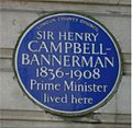 Blue plaque Campbell-Bannerman.jpg