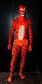 Bodypainted Tiger, Human Statue Bodyart (8273545519).jpg
