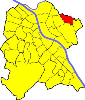 Holzlar - Location of Holzlar in Bonn