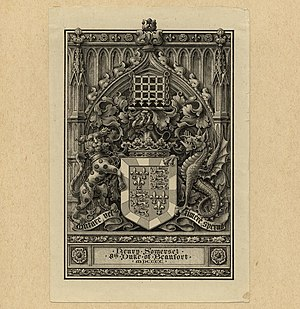 Duke of Beaufort - Image: Bookplate Henry Somerset Duke of Beaufort