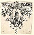 Border ornament, with a representation of Faith (Fides) PK-Thysiana 115.jpg