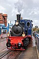 Borkum, Bahnhof, Dampflok -- 2020 -- 3089.jpg