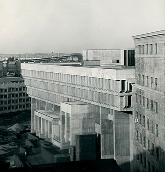 Boston City Hall - Boston City Hall, circa 1968