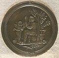 Bottega del riccio, la virtù offre i suoi doni all'umanità, 1505-10 circa.JPG