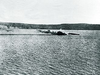 French battleship Bouvet - Image: Bouvet capsizing March 18 1915