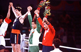 Boxing competition at the 1984 Summer Olympics.jpg