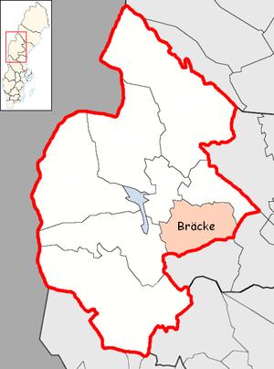 Bräcke Municipality - Image: Bräcke Municipality in Jämtland County