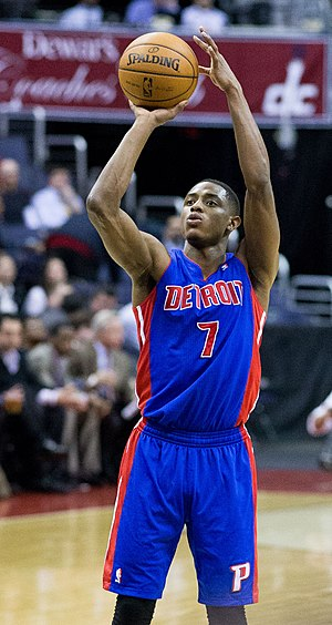 2011 NBA draft - Brandon Knight was selected eighth by the Detroit Pistons.