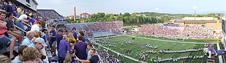Bridgeforth Stadium and Zane Showker Field - Image: Bridgeforth Panorama