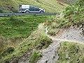 Bridleway down Cwm Gwrach, Powys - geograph.org.uk - 1529635.jpg