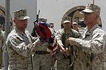 Brigade Headquarters Group - Afghanistan cases unit colors aboard Camp Leatherneck 140725-M-JD595-9576.jpg