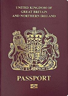 British National (Overseas) passport British passport for persons with British National (Overseas) status, first issued in 1987 after the Hong Kong Act 1985, from which this new class of British nationality was created