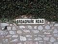 Broadpark Road Sign, Torquay.jpg