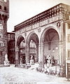 Brogi, Giacomo (1822-1881) - n. 3057 - Firenze - Loggia de' Lanzi, incominciata nel 1376 bis.jpg