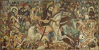 battle in October 680 CE between the Crual ruler Yazid ibn  Muaviya and of Husayn ibn Ali