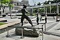 Bruce Lee Statue at Avenue of Stars, HongKong (Ank Kumar, Infosys) 05.jpg