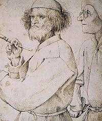 Bruegel �narck�pe, m�g�tte a m�kritikus