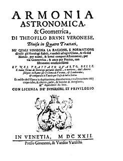 Teofilo Bruni Italian mathematician and astronomer