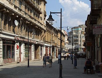 English: Old city in Bucharest