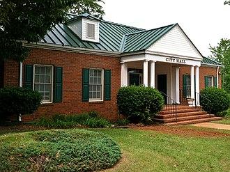 Buena Vista, Georgia - Image: Buena Vista, GA City Hall
