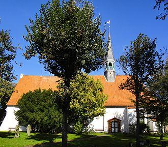Büsum - The St. Clemens church in Büsum