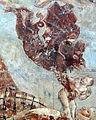 Buffalmacco, trionfo della morte, diavoli 03.JPG