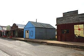 Cherokee, Texas - Image: Buildings in Cherokee, Texas