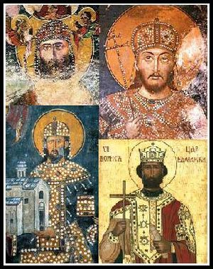 Bulgarian–Serbian wars (medieval) - Image: Bul sr wars