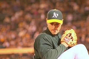 Jay Marshall (baseball) - Marshall with the Oakland Athletics