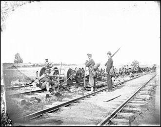 Northern Virginia Campaign - Image: Bull Run 2 Railroad