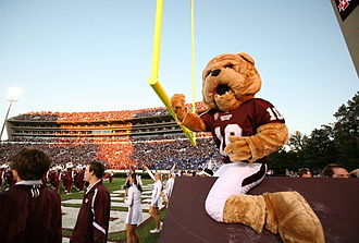 Bully (mascot) - Mississippi State's costumed mascot, Bully, as he appears today
