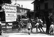 Bundesarchiv Bild 102-00743A, Schweiz, Kreuzlingen, Grenzübergang