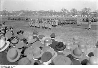 Infantry Regiment Großdeutschland - Bundesarchiv Bild 102-13187, Berlin, Parade der Wachtruppen 1932
