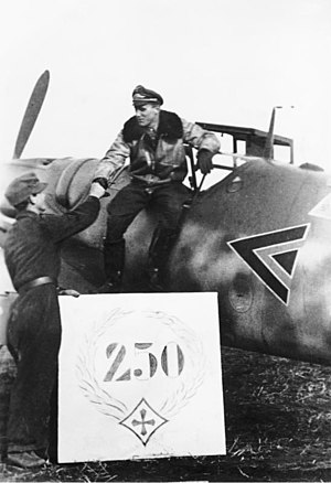 Günther Rall - Günther Rall after his 250th aerial victory