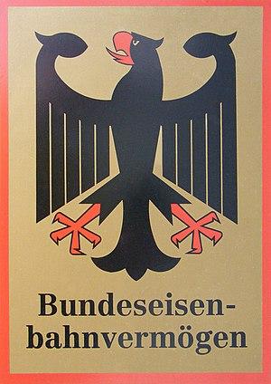 Bundeseisenbahnvermögen - Shield of Bundeseisenbahnvermögen