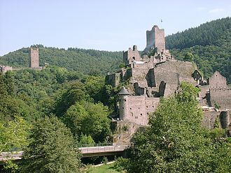 Manderscheid, Bernkastel-Wittlich - Image: Burg Manderscheid